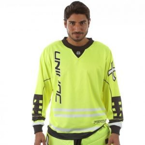 Unihoc Goalie Sweater Feather Maalivahdin Paita Keltainen